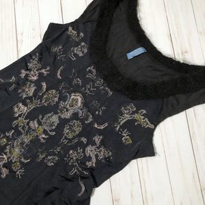Free People Tank Top Fit and Flare Scoop Neck